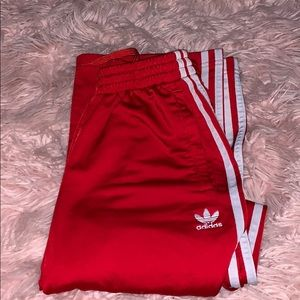 Adidas Straight Leg Sweats KIDS LARGE